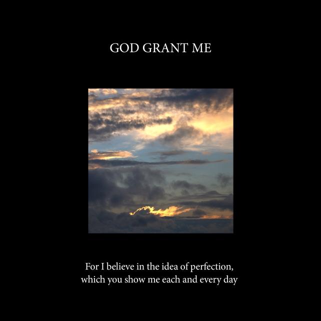 God grant me-cover