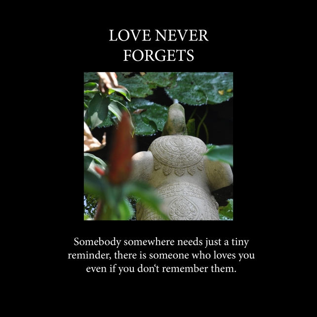 Love never forgets