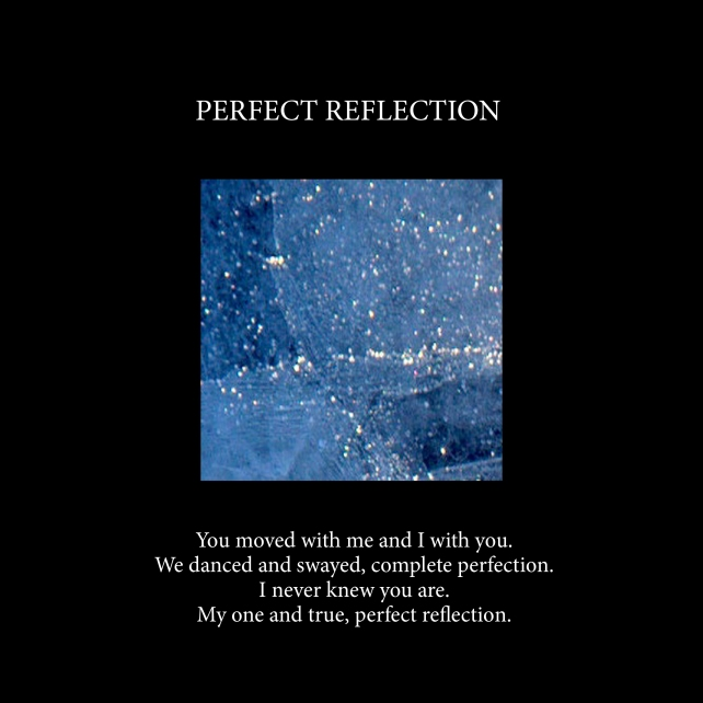 Perfect reflection Cover