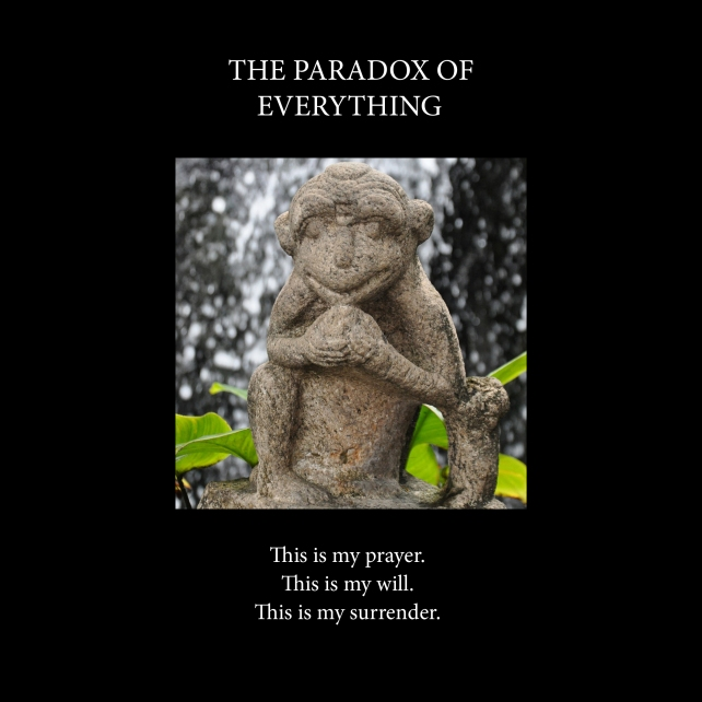The paradox of everything-Cover